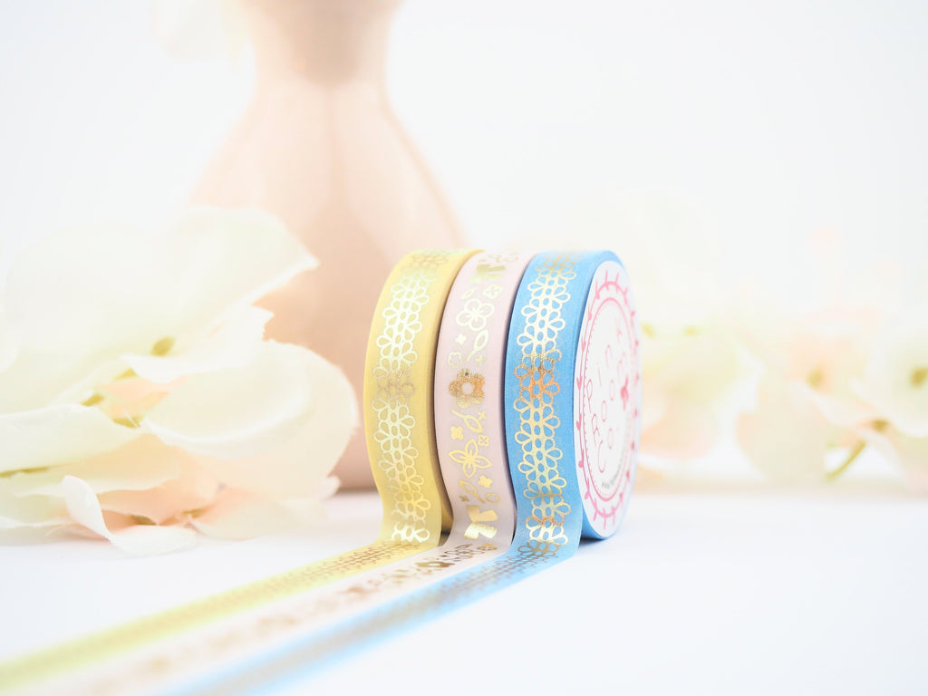DAISY in PINK  Washi Collection - The Pink Room Co Exclusive Original