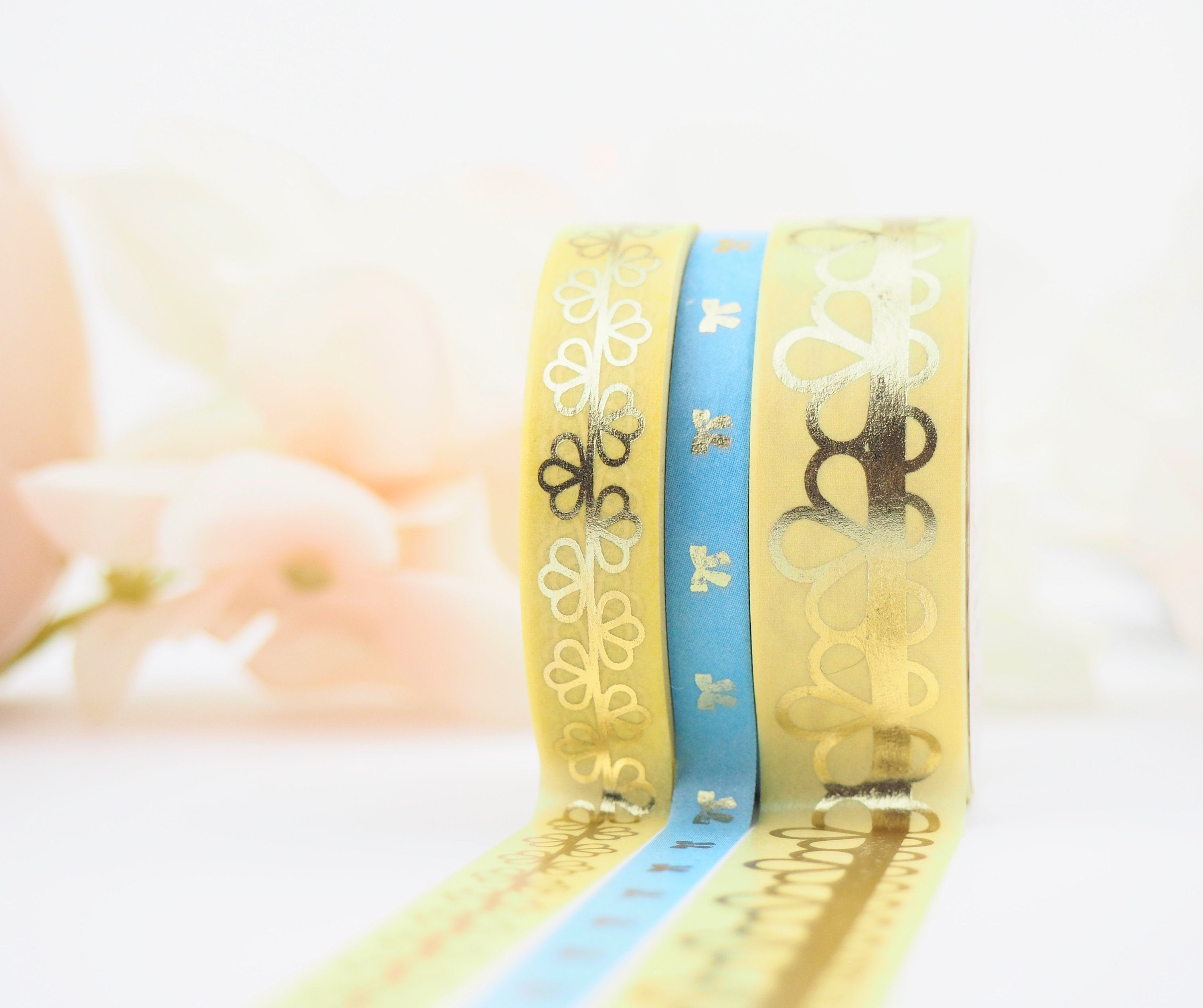 Lace of Venus in Yellow Washi Collection - The Pink Room Co Exclusive Original