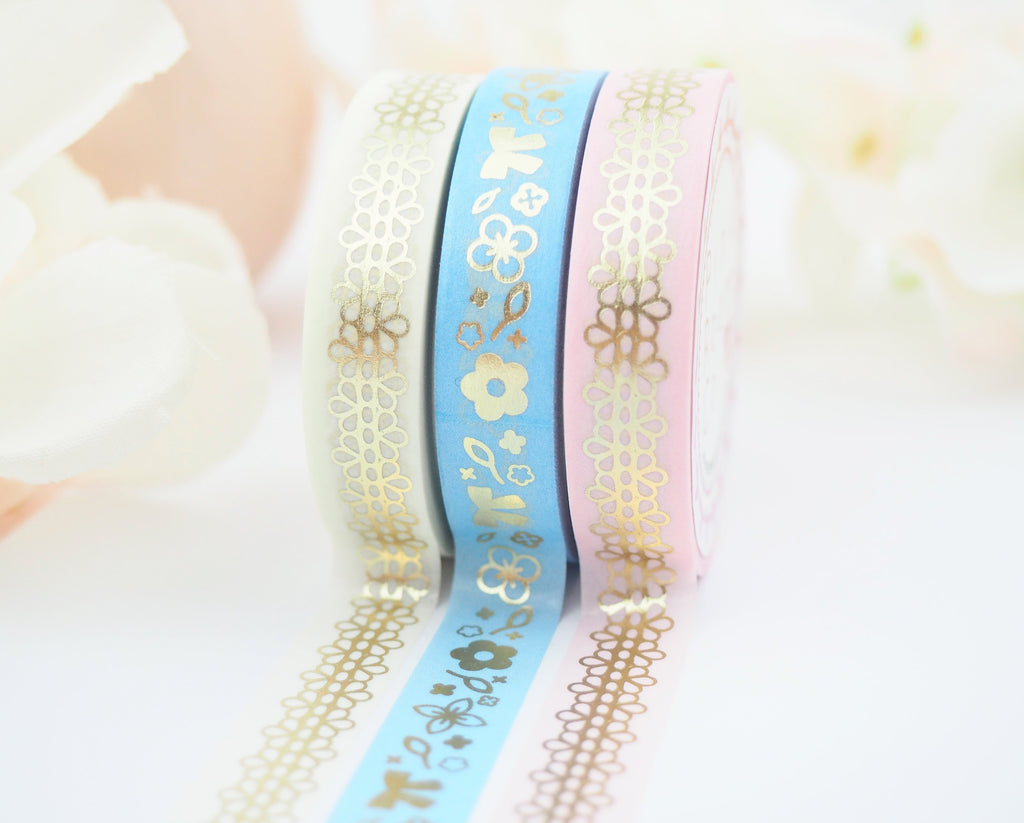DAISY in BLUE  Washi Collection - The Pink Room Co Exclusive Original