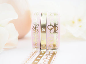 Lace of Venus in Pink Washi Collection - The Pink Room Co Exclusive Original