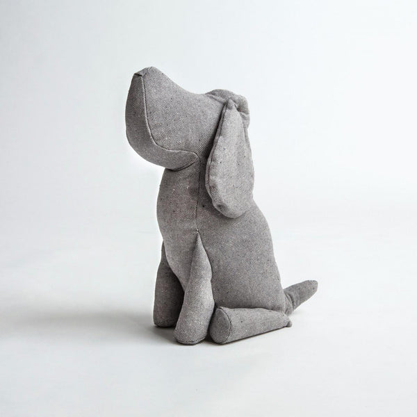 Deco Hund Johan Tweedy Grey