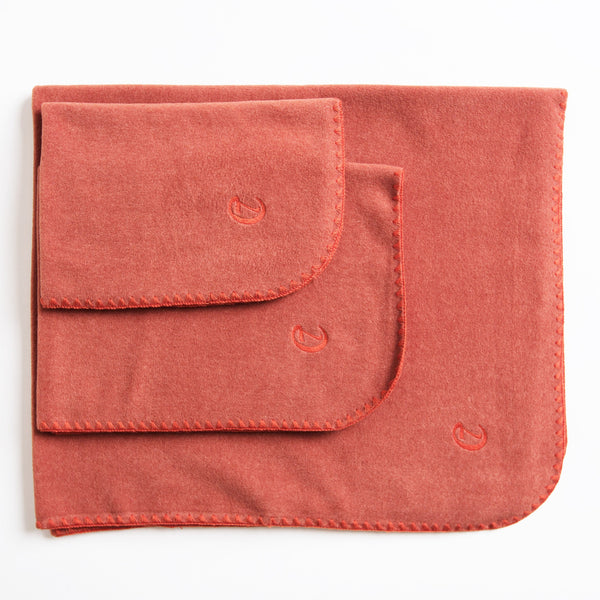 Hundedecke Soft Fleece Orange