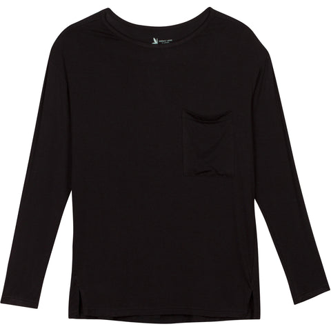 womens long sleeve sun shirts black