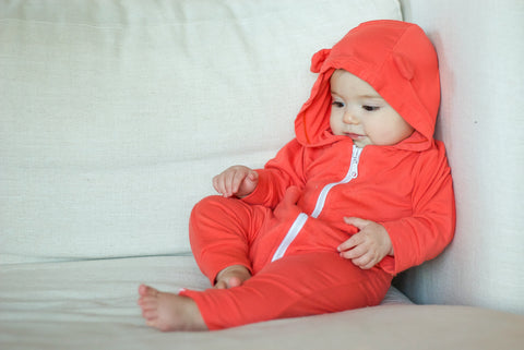 Baby UPF 50+ sun protection bamboo apparel by Shedo Lane