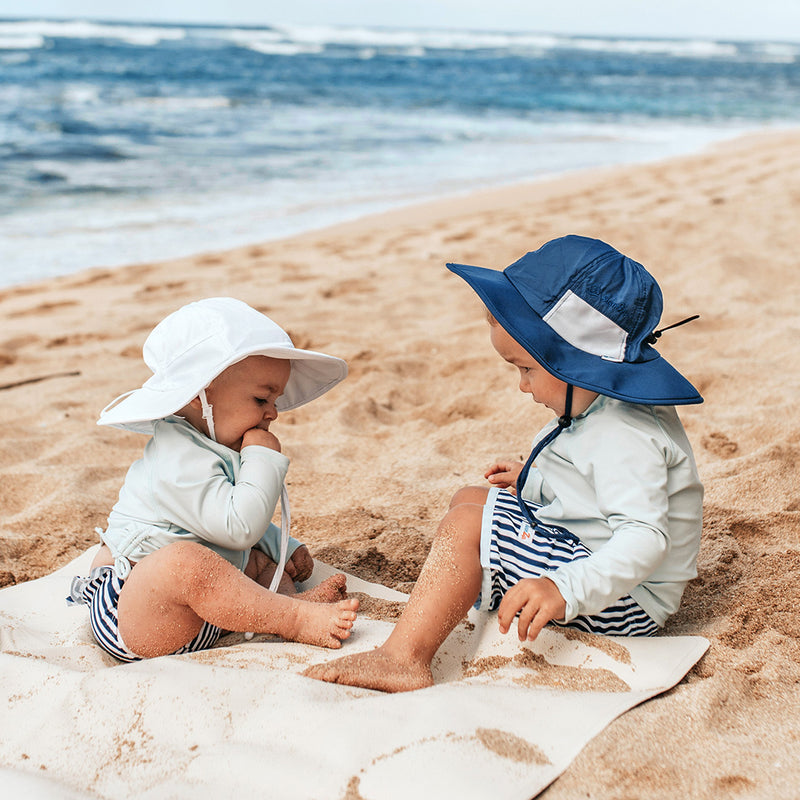 SwimZip Kids' Wide Brim Sun Hat-Shēdo Lane