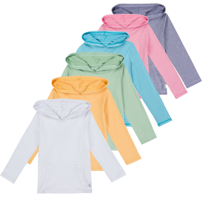 Kid's Long Sleeve Hoodie Sweatshirt - Multiple Colors