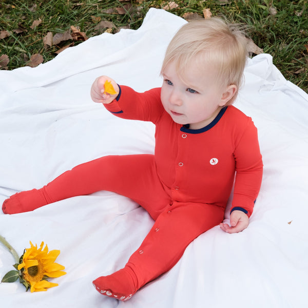 Baby Long Sleeve Footed Sleeper-Footed Romper-Shēdo Lane