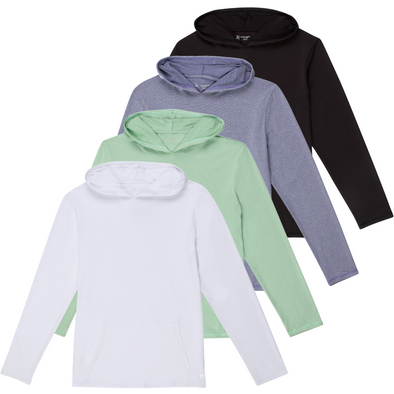 Men's Long Sleeve Hoodie Sweatshirt - Multiple Colors