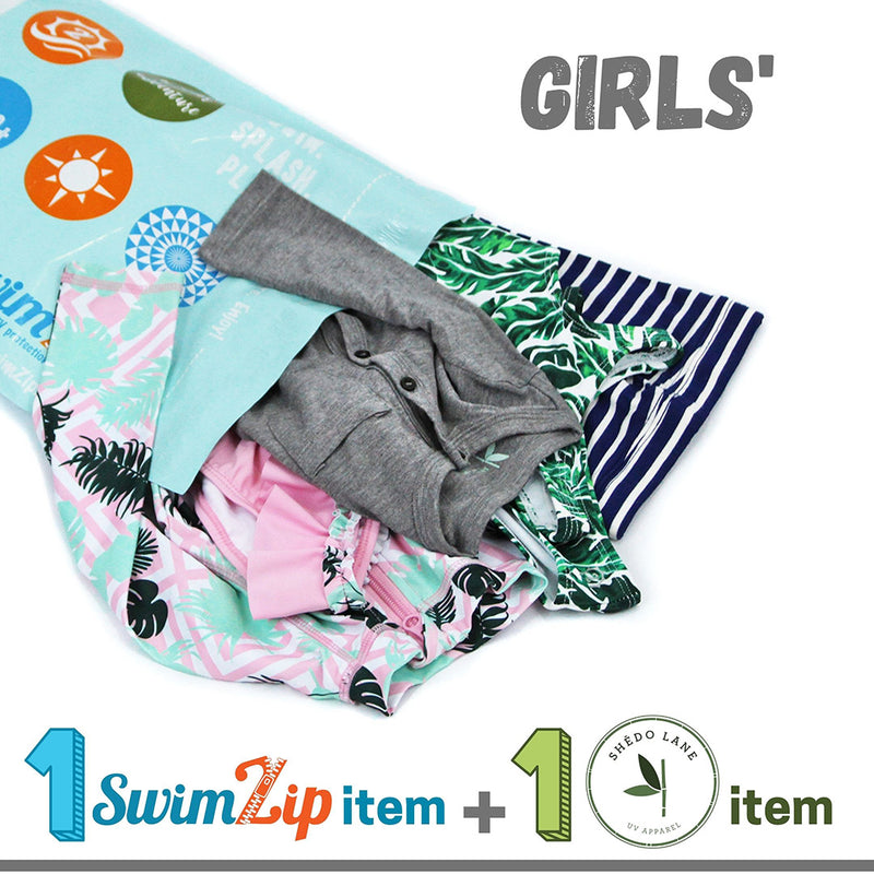 $20 Girls' Shēdo Lane + SwimZip Grab Bag-Grab Bag-Shēdo Lane