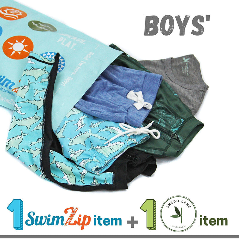 $20 Boys' Shēdo Lane + SwimZip Grab Bag-Grab Bag-Shēdo Lane