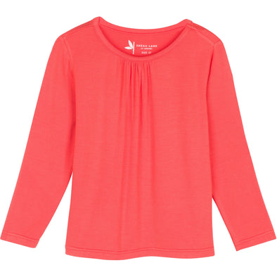 long sleeve sun protection shirt girl pink shedo