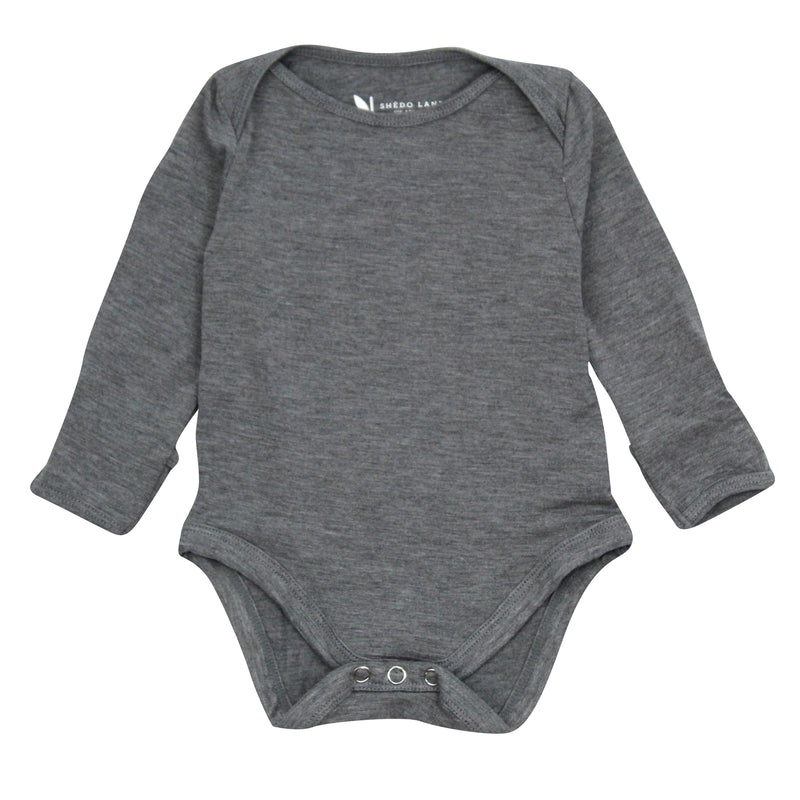 Baby Long Sleeve Onesie Bodysuit-Onesie-Shēdo Lane