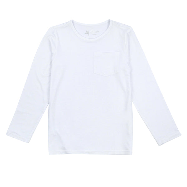Kids' Long Sleeve Pocket T-Shirt-Kids' Shirt-Shēdo Lane