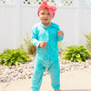 Baby & Toddler Long Sleeve Hooded Romper - Multiple Colors