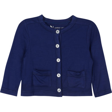 kids sun protection cardigan blue shedo