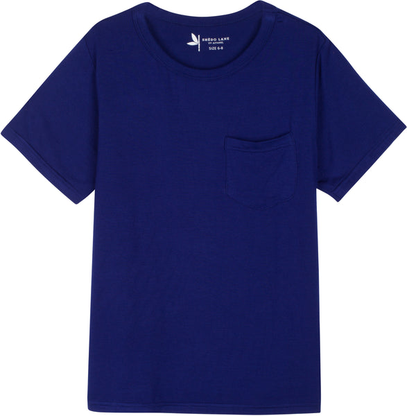 Kids Short Sleeve Pocket T - UPF 50+ UV Sun Protection T Shirts