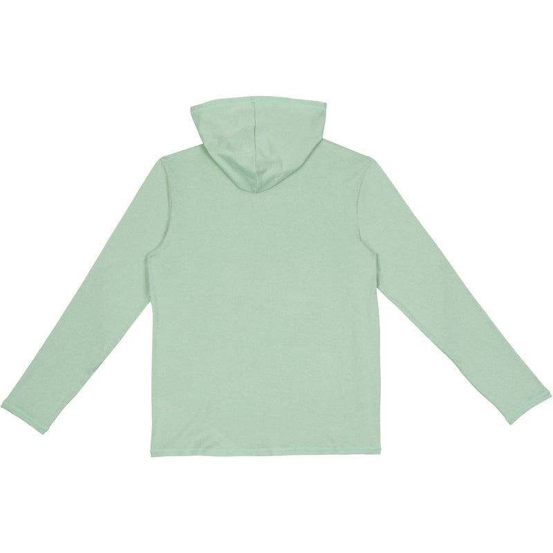 Adult Unisex Long Sleeve Hoodie - Light Green-Adult Hoodie-Shēdo Lane
