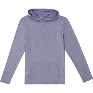 Men's Long Sleeve Hoodie Sweatshirt - Light Navy