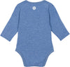 uv protection baby clothes blue onesie
