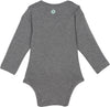 uv protection baby clothes gray long sleeve