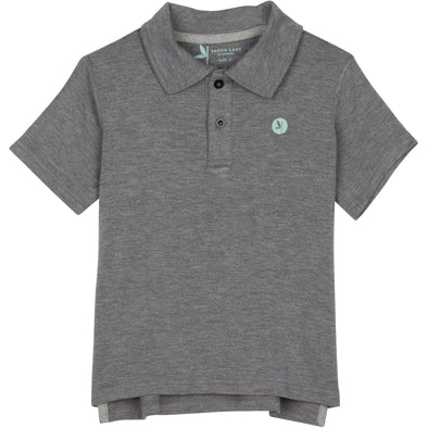 gray sun protection shirts polo boy shedo