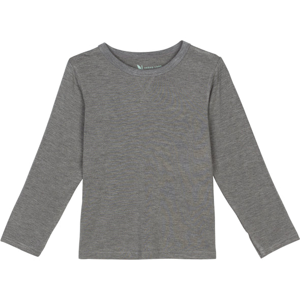 sun protection long sleeve shirt boy gray