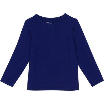 toddler long sleeve navy blue shedo UPF 50