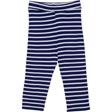girl sun protection pants navy stripe shedo