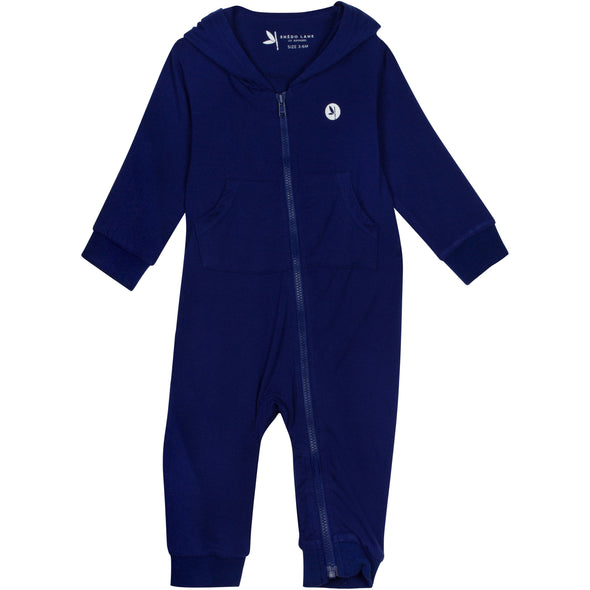 baby sunsuit romper navy shedo