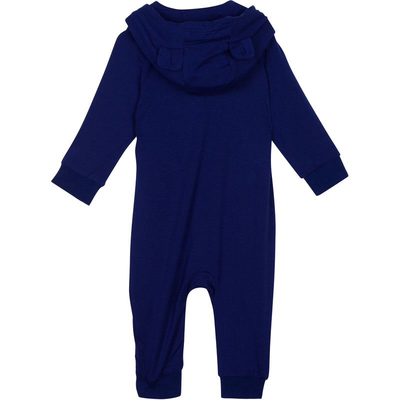 "Baby Long Sleeve ""Bear Necessity"" Zipper Romper-Hooded Romper-Shēdo Lane"