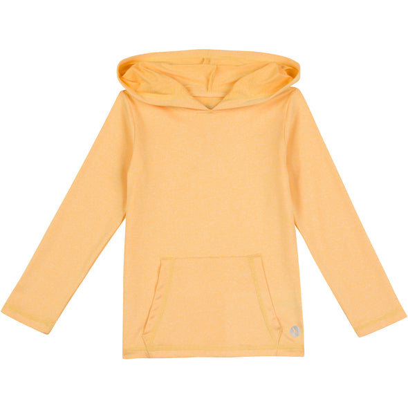 Kid's Long Sleeve Hoodie Sweatshirt - Daffodil Yellow