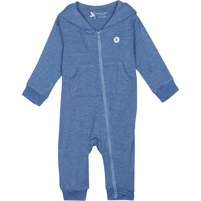 baby sun protection UV romper blue shedo