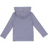Kid's Long Sleeve Hoodie Sweatshirt - Light Navy