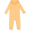 Baby & Toddler Long Sleeve Hooded Romper - Daffodil Yellow