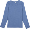 men's upf shirts long sleeve shedo lane blue