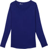 long sleeve spf shirt for women blue