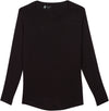 Women's Sunblock Shirts Black Open Back Long Sleeve Shirt UPF 50+ shedo lane