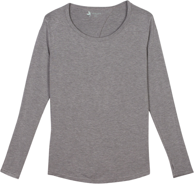 Women's Long Sleeve Open Back Shirt-Women's Shirt-Shēdo Lane
