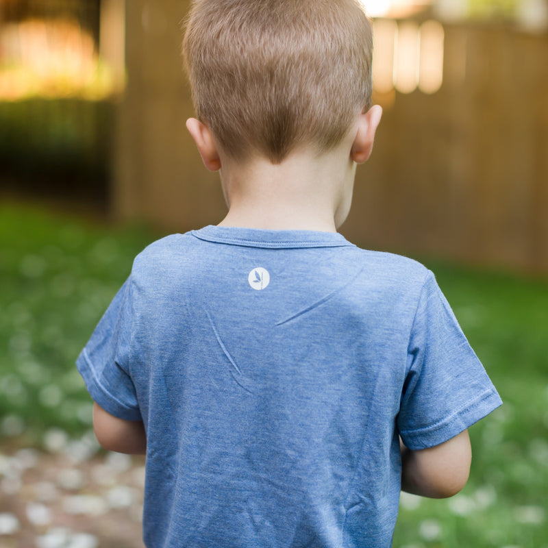 Kids' Short Sleeve Pocket T-Shirt-Kids' Shirt-Shēdo Lane