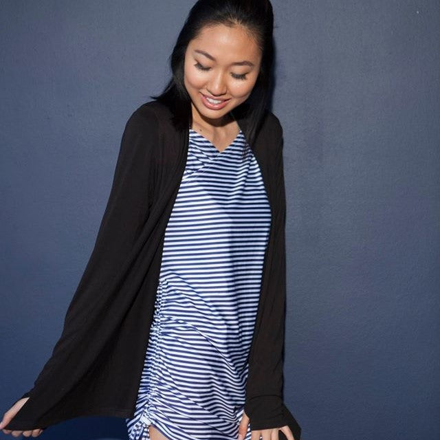 Women's Perfect Cardigan-Women's Cardigan-Shēdo Lane