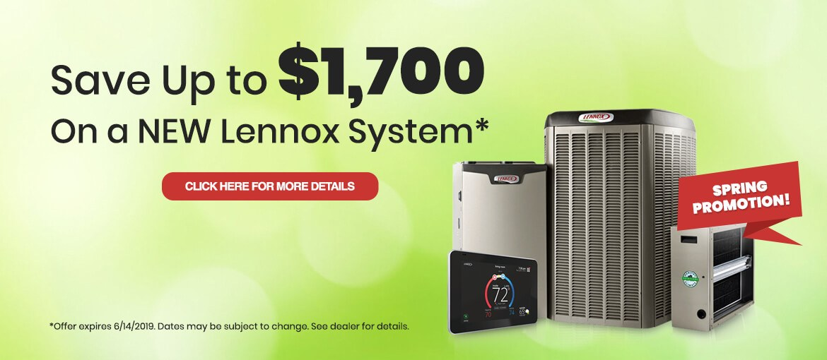 Lennox Spring 2019 Rebates
