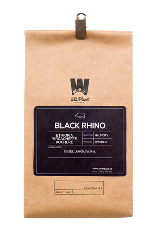 Black Rhino Premium Ethiopia Coffee (12 oz)