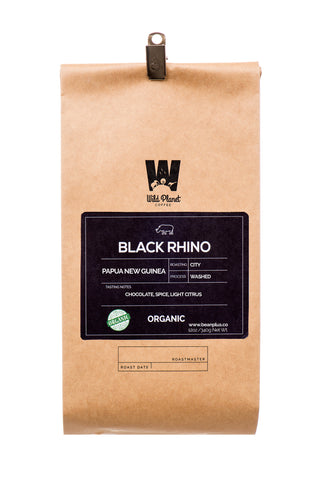 Black Rhino Organic Papua New Guinea Coffee (12 oz)