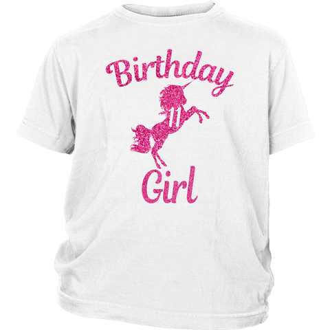 2196e011f8 Unicorn 11th Birthday girl pink 11 years old T-shirts