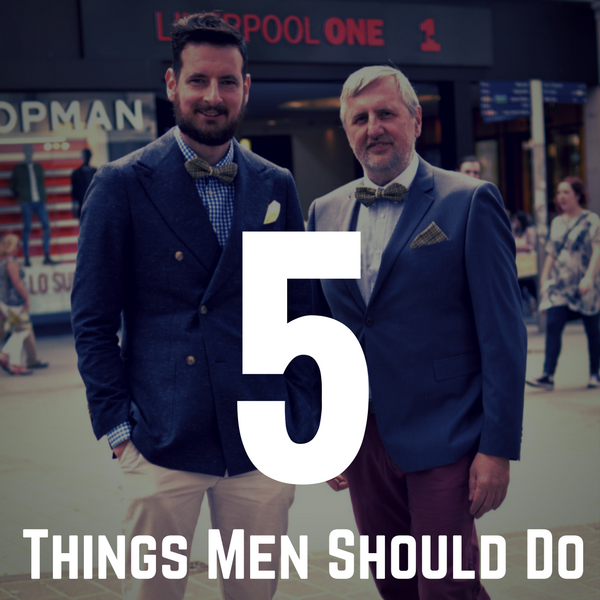 What Men Should do - 5 things