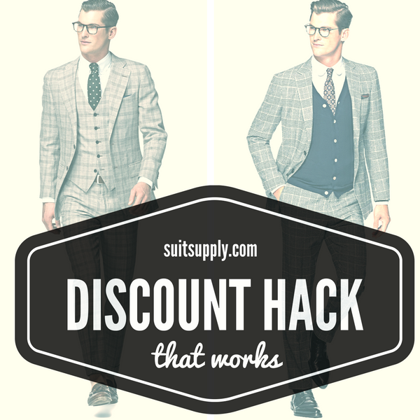Suit Supply Discount Code - Hack that works!