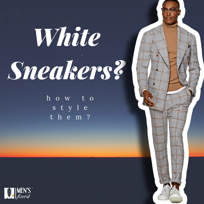How to wear white sneakers in 2018