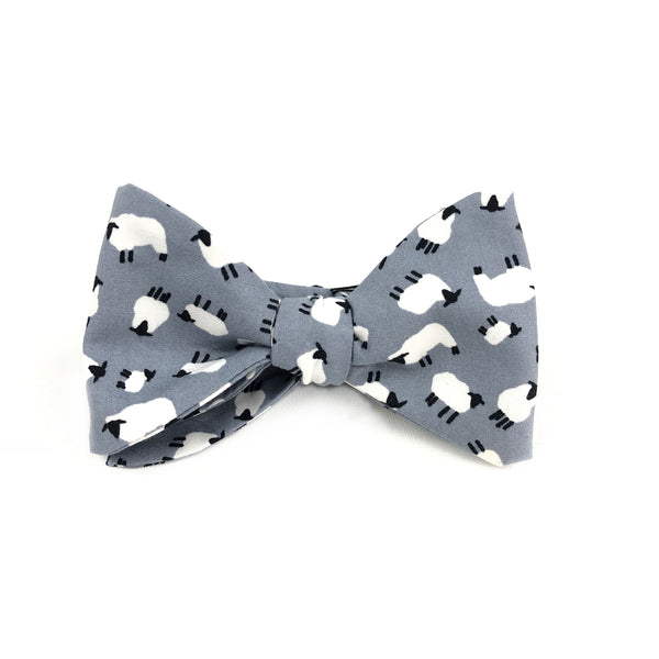 Grey Sheep Big Bow Tie