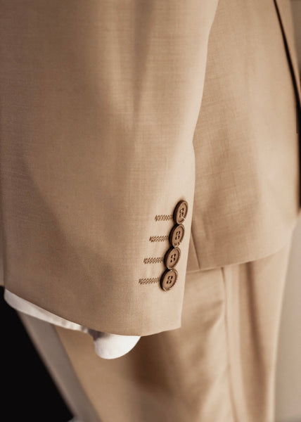 The Winner - light Brown Three piece suit