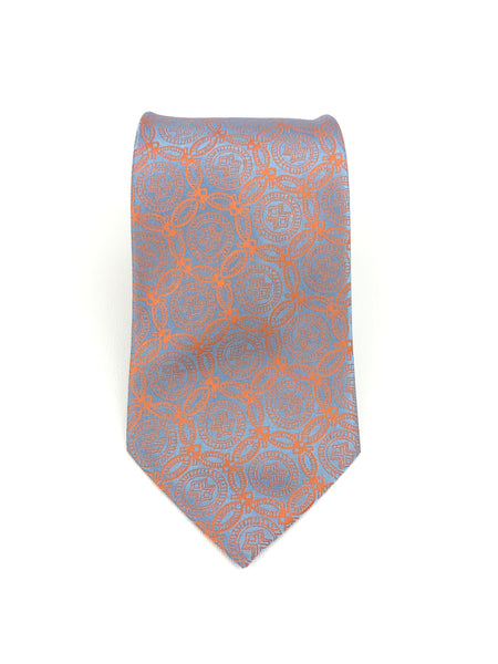 Silver Orange Winning Tie